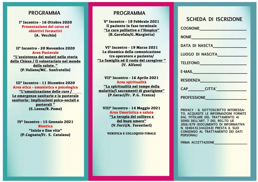 Ufficio Diocesano Per La Pastorale Della Salute Arcidiocesi Di Palermo